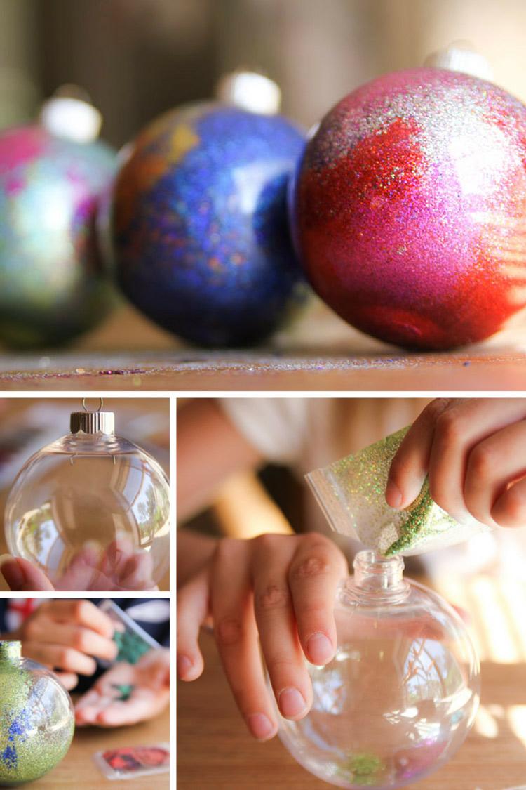 Christmas Baubles DIY